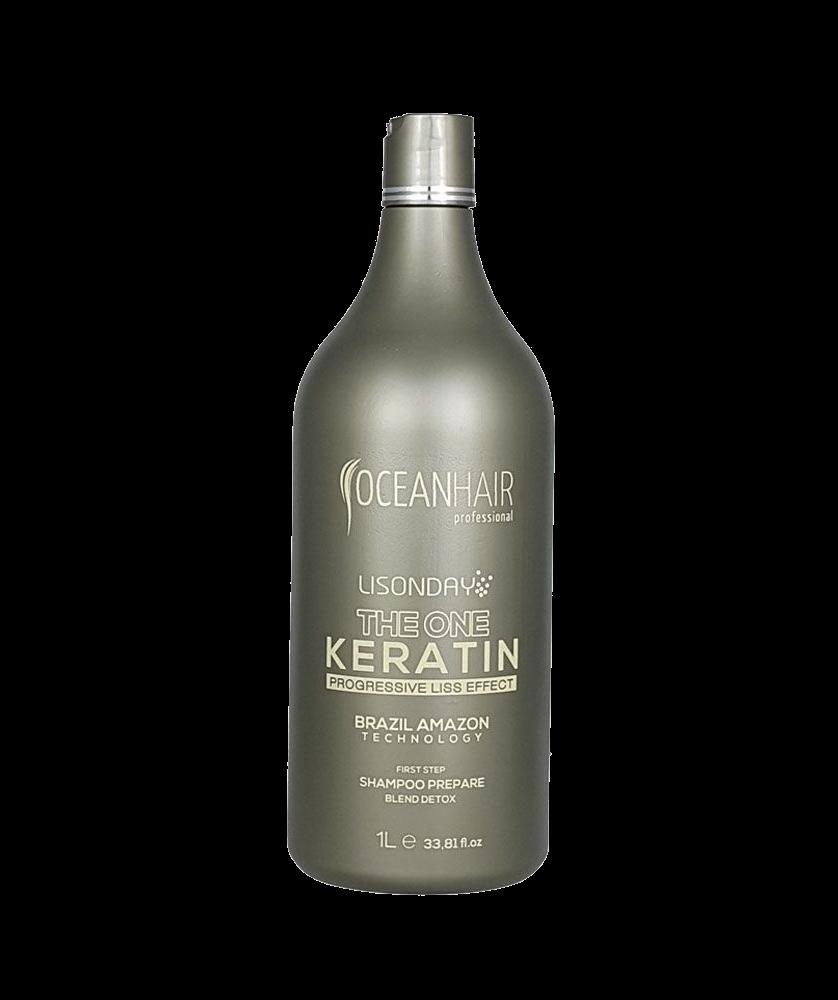Imagem de OceanHair - The One Keratin - Champô Prepare - 1L