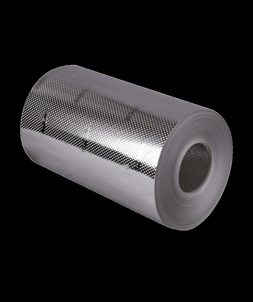 Imagem de Hairgrip Pro Papel Alumínio 75m x 13cm Rolo – Prata